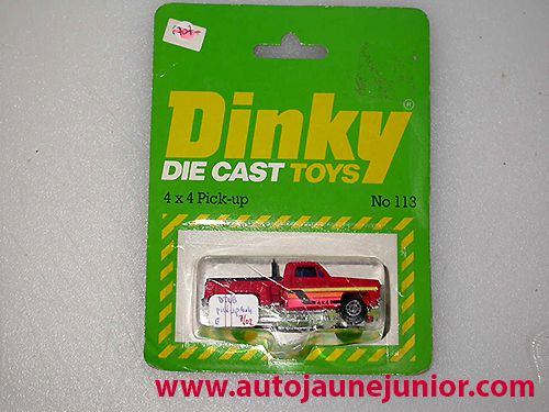 Dinky Hong Kong 4X4 PICK UP