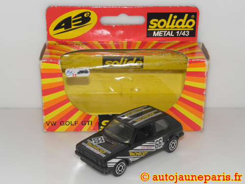 Solido VW golf GTI 66 Monoe