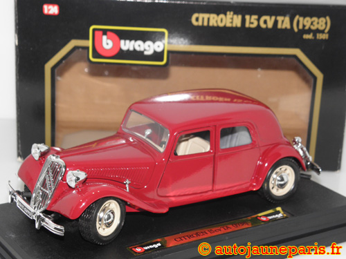 Burago 15cv traction avant 1938