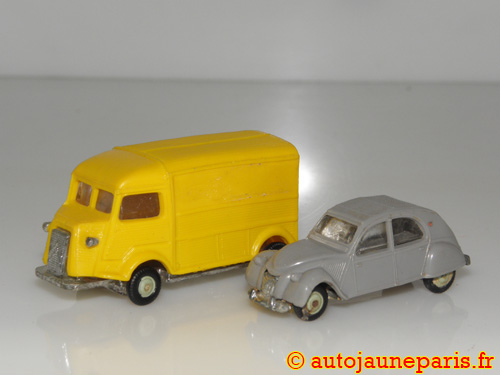 lot 2 Micro Miniatures (Citroën 2cv et 1200Kgs)