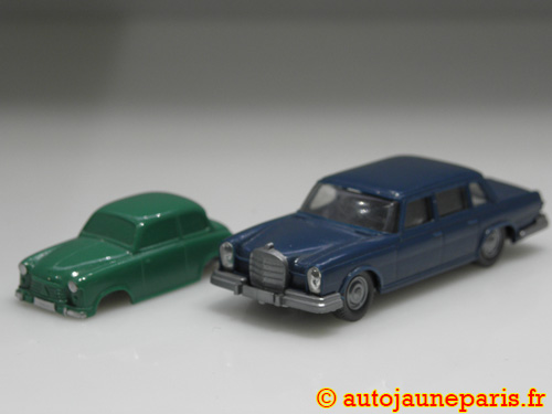 lot Mercedes 600 et Lloyd