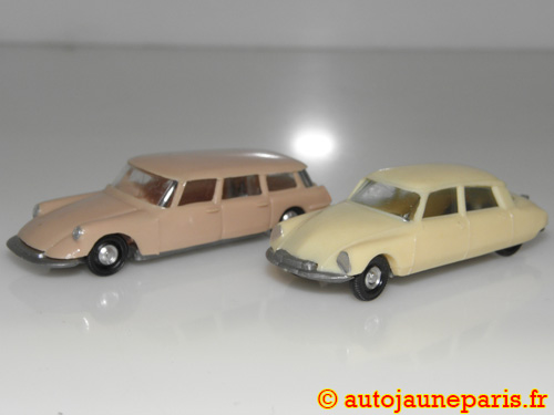 Citroën lot de deux DS (19 et break)