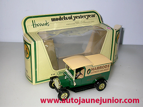 Matchbox 1922 Harrods