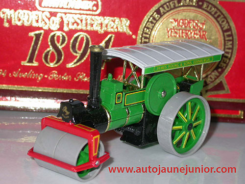 Matchbox 1894 Porter steam roller