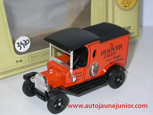 Matchbox Ford T 1912 Hoover