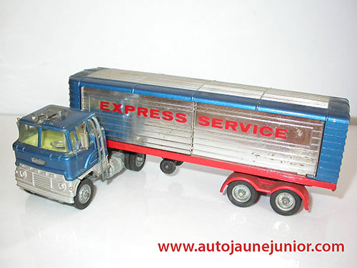 tracteur semi fourgon express service