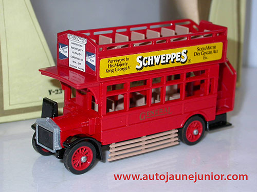 Ford S type Omnibus Schweppes 1922