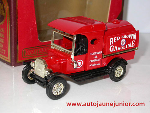 Matchbox Camion citerne T 1912 Red Crown