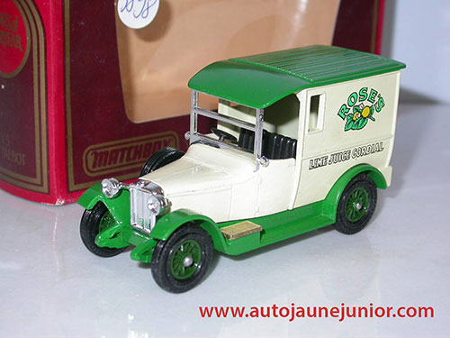 Matchbox vAN 1927 Rose's