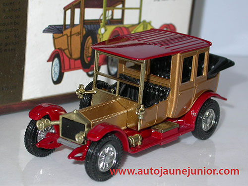 Matchbox 6 cylindres 1912