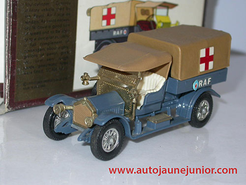 Matchbox RAF Tender Croix Rouge 1918