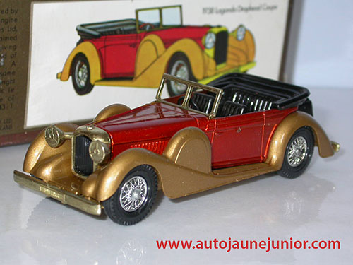 Matchbox Coupé 1938