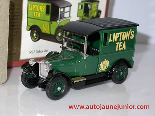 Matchbox Van 1927 lipton'S Tea