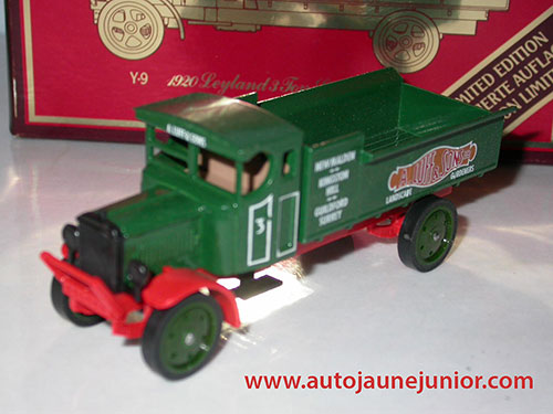 Matchbox 3 Fon Subsidy Lorry 1920