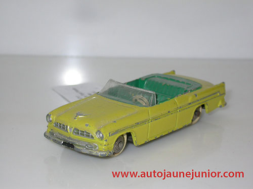 Dinky Toys France New Yorker cabriolet