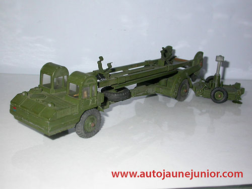 Dinky Hong Kong Corporal missile