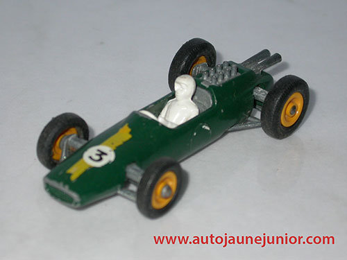 Matchbox Climax monoplace