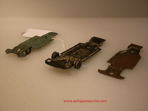Dinky Toys France 3 chassis