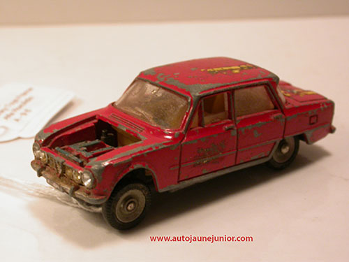 Dinky Toys France Giulia TI tour de France auto