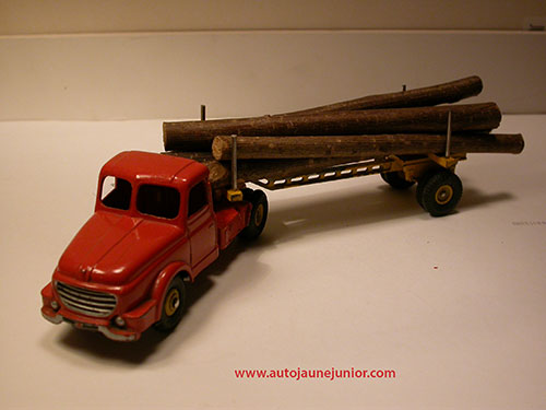 Dinky Toys France semi remorque fardier