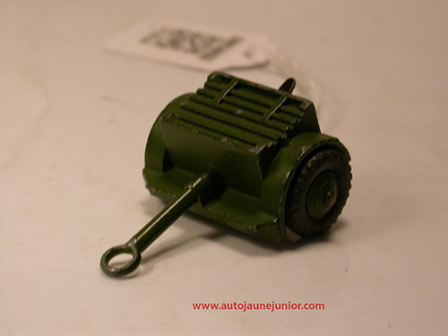 Dinky Toys GB caisson munitions