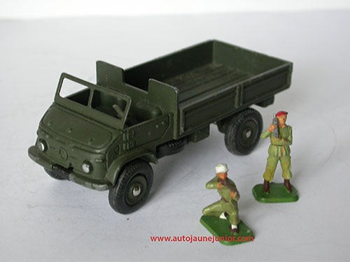 Dinky Toys France Unimog ridelles