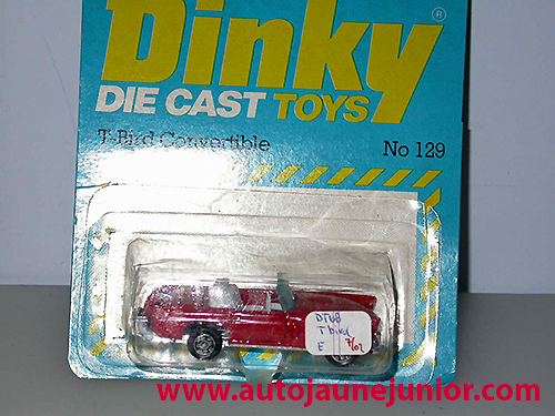 Dinky Hong Kong T Bird Convertible