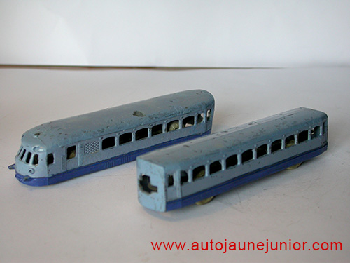 Dinky Toys France autorail Nord