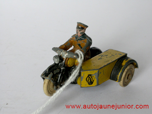 Dinky Toys GB side car AA