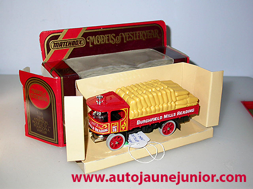 Matchbox Atkinson model d steam wagon