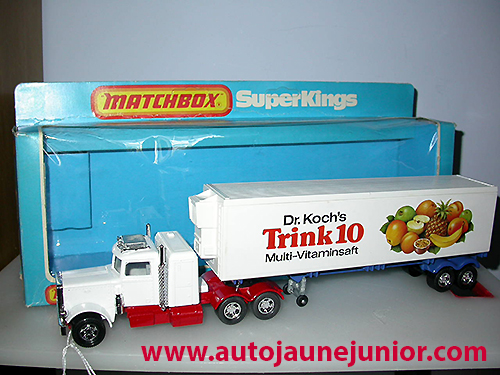 Matchbox semi Trink 10