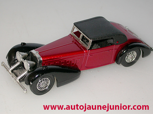 Matchbox 1938 hispano suiza