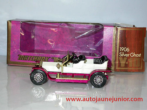 Matchbox Silver Ghost 1906