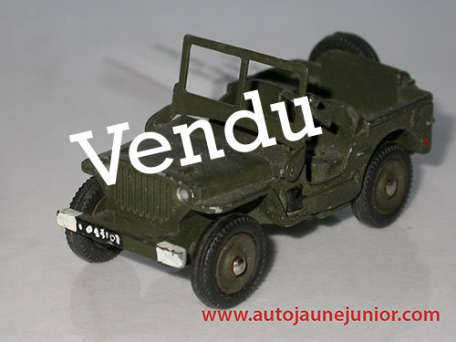 Dinky Toys France Jeep lance missile