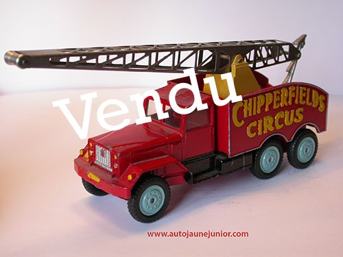 Corgi Toys camion grue Chipperfields