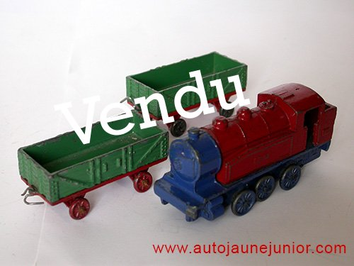 Dinky Toys France loco et 2 wagons