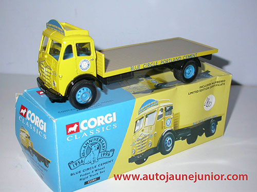 Corgi Toys Blue Circle Cement