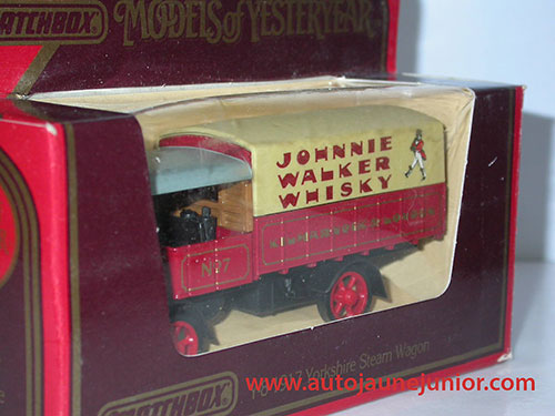 Matchbox Yorkshire Steam Wagon 1917